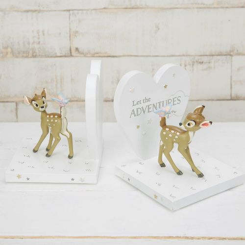 Disney Bambi Bookends Nursery Decor Baby Gift